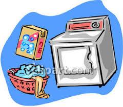 Laundry or Washing of Clothes
